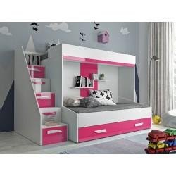 Łóżko piętrowe FILIP 6