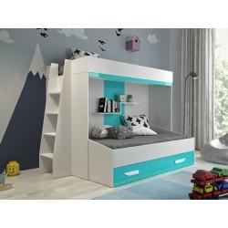 Łóżko piętrowe FILIP 7