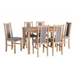 Zestaw stół ALBA 1 + 6x...