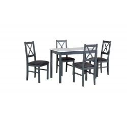 Zestaw stół MAX 2 blat...