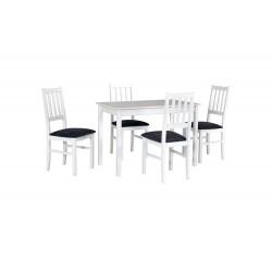 Zestaw stół MAX 2 biały +...