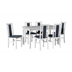 Zestaw stół MODENA 1P biały...