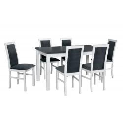Zestaw stół MODENA 2 blat...