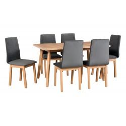 Zestaw stół OSLO 5 sonoma +...