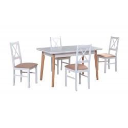 Zestaw stół OSLO 7 blat...