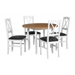 Zestaw stół POLI 3 blat...