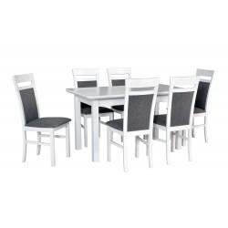 Zestaw stół WENUS 2S biały...