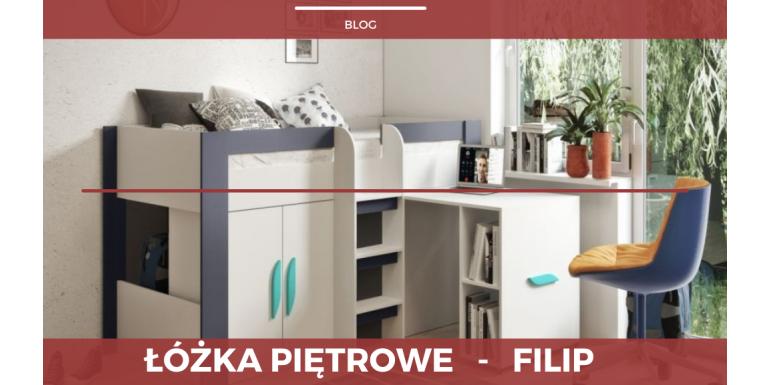 Łóżka piętrowe - FILIP